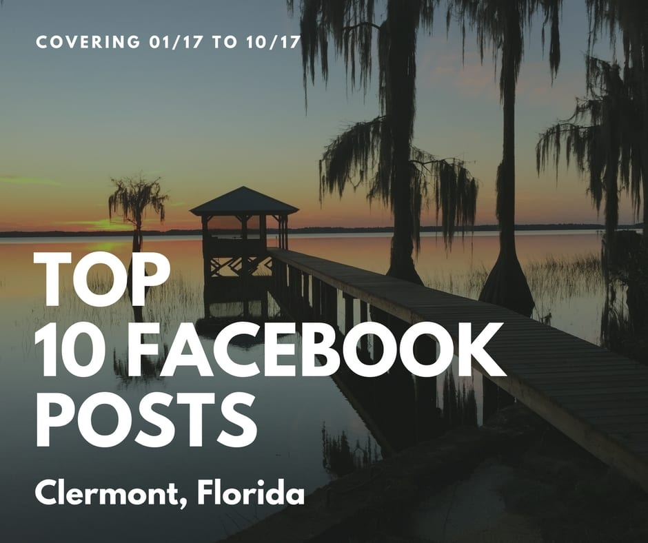 Clermont Social Media Study of Top 10 Facebook Posts