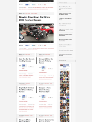 Web Design for Street Rodding American Style