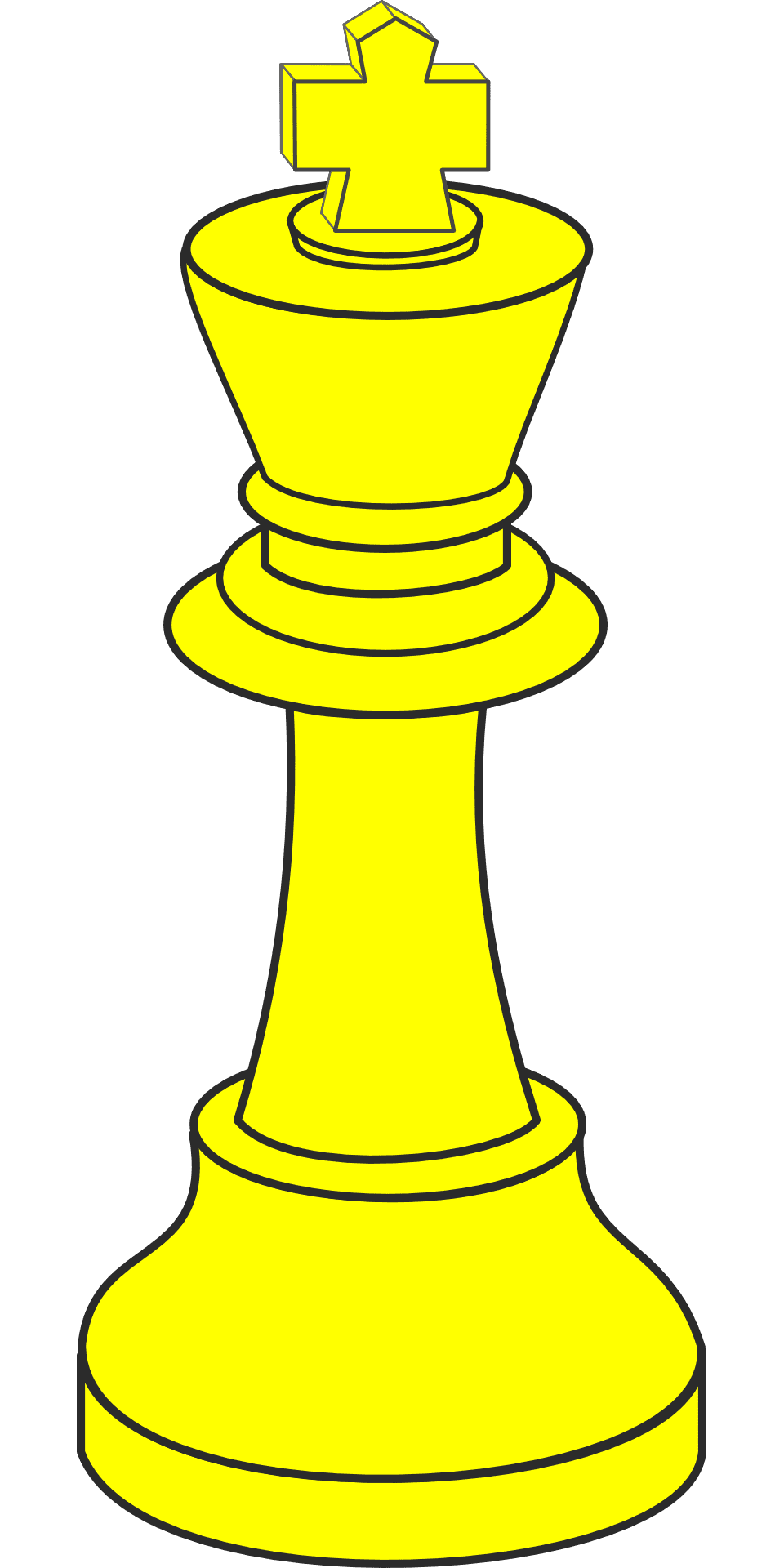King Chess Piece for Marketing Victory